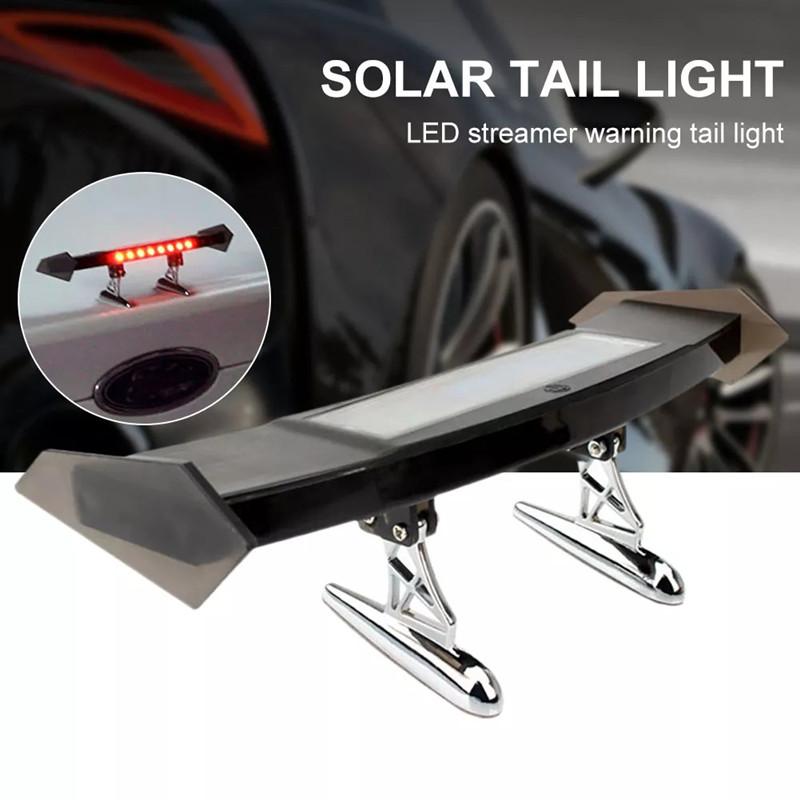 img 0 Auto Bremse Licht Solar Powered LED Spoiler Mini Hinten Fl gel R cklicht Vibration Sensor LED.jpg .webp
