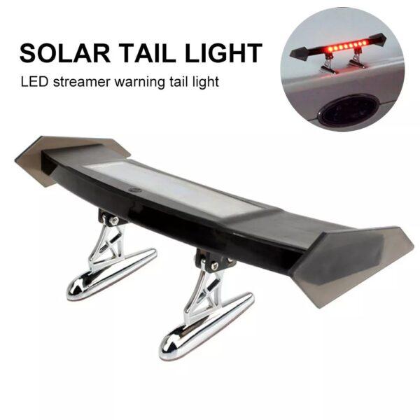 img 4 Auto Bremse Licht Solar Powered LED Spoiler Mini Hinten Fl gel R cklicht Vibration Sensor LED.jpg .webp