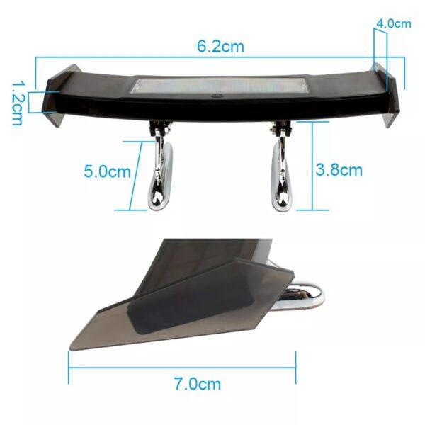 img 5 Auto Bremse Licht Solar Powered LED Spoiler Mini Hinten Fl gel R cklicht Vibration Sensor LED.jpg .webp